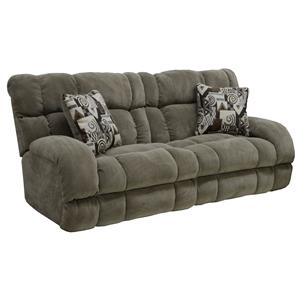 Catnapper Siesta  Power Lay Flat Reclining Sofa
