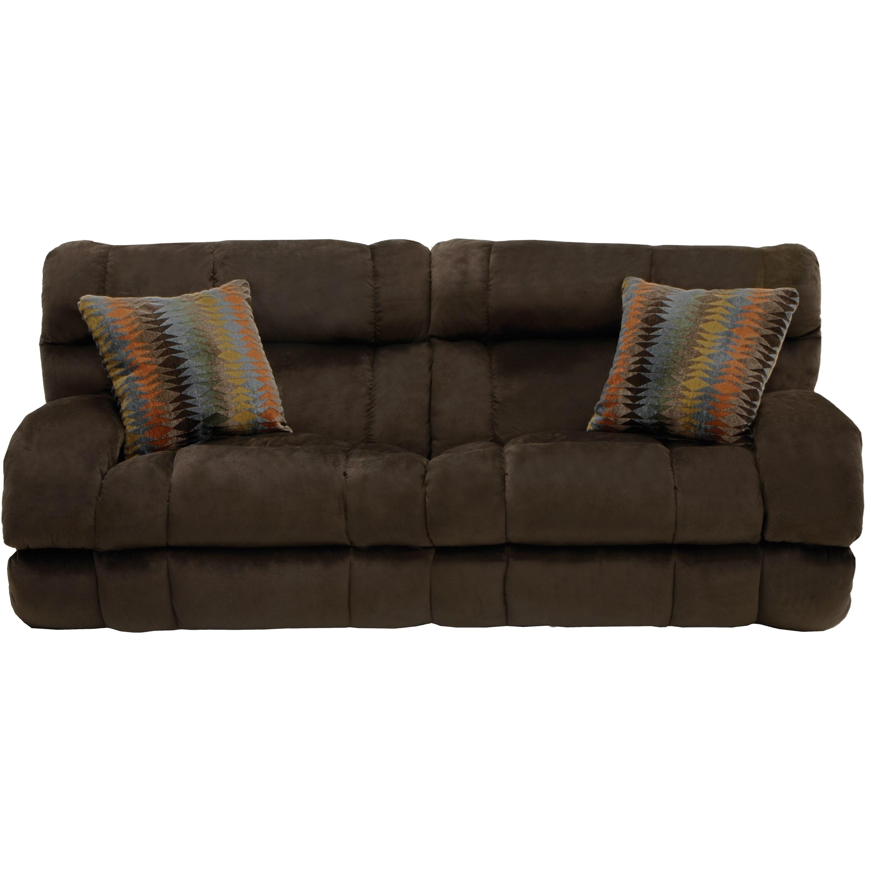 Catnapper Siesta Queen Sleeper Sofa With Extra Wide Seats