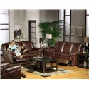 Catnapper Sonoma  Reclining Console Loveseat with Storage and Cupholders - Shown with Reclining Sofa