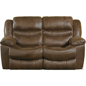 Catnapper Valiant Power Rocking Reclining Loveseat