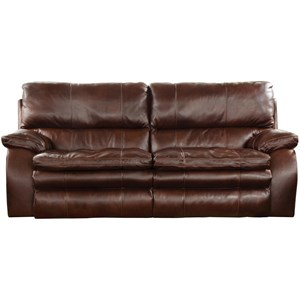 Catnapper Verona 764232 Power Lay Flat Reclining Loveseat