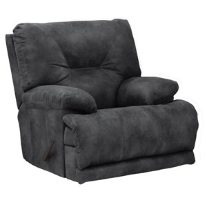 Lay Flat Recliner with Pillow Arms