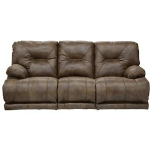 "Catnapper Voyager ""Lay Flat"" Reclining Sofa"