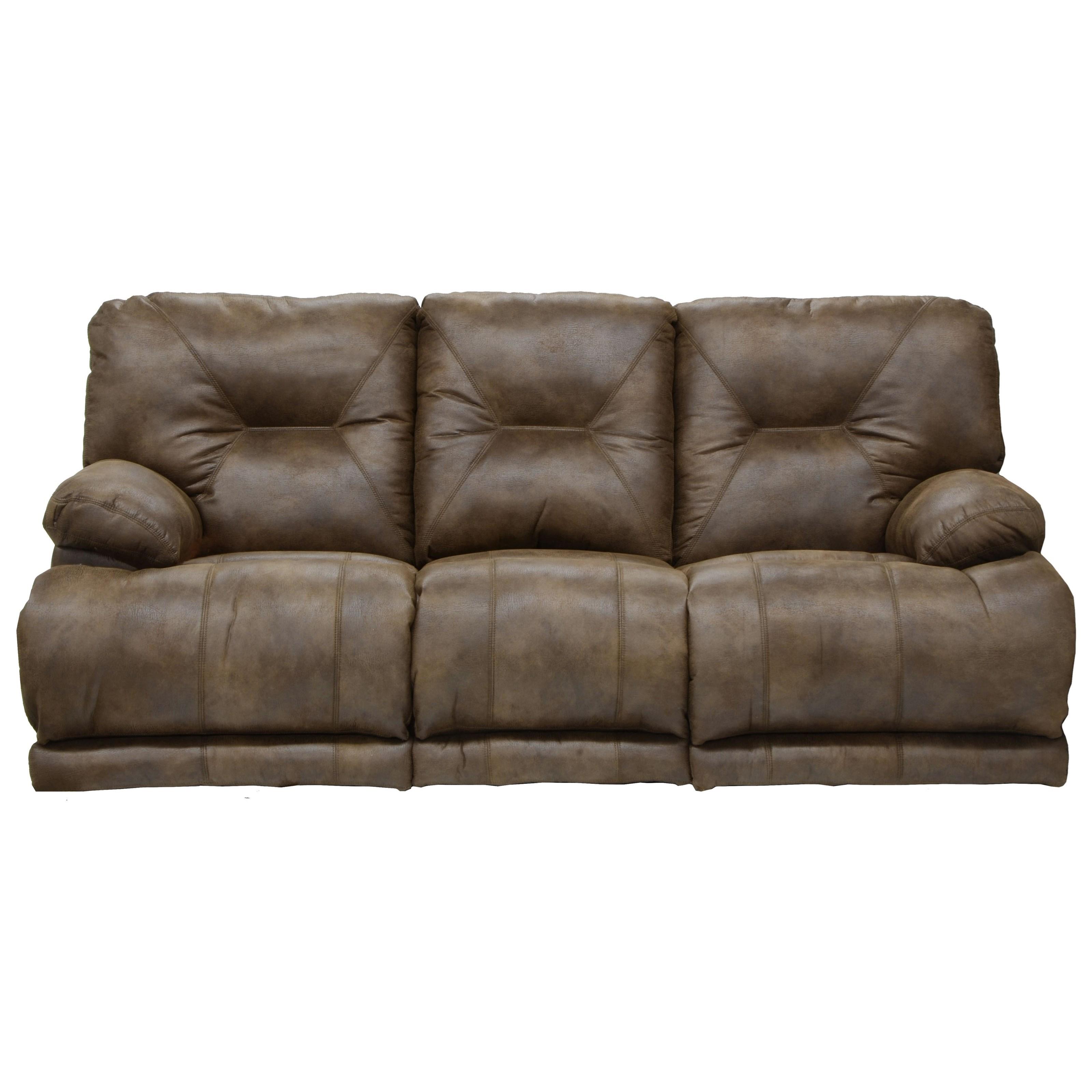 Catnapper Voyager 643845 Power Lay Flat Reclining Sofa