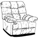 Catnapper Cloud Ten Chaise Rocker Recliner