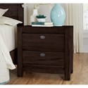 Centennial Solids Touche Nightstand - Item Number: 260-227