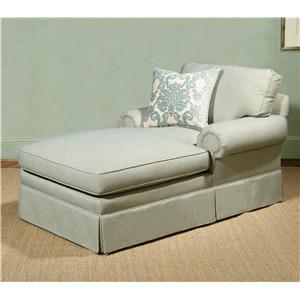 Century 2000 Eight Step Custom 54 to 100 Inch Customizable Chaise