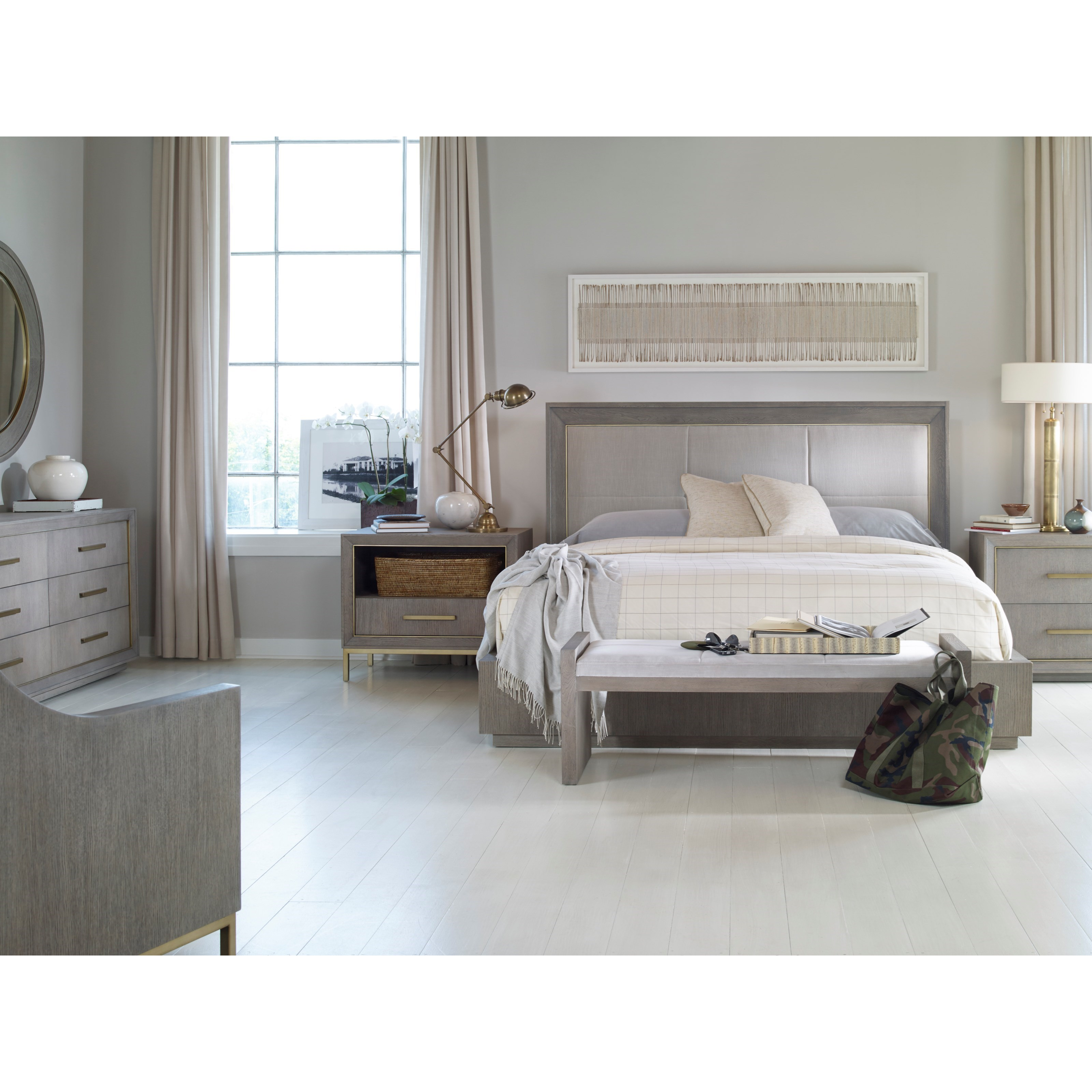 Archive Home and Monarch Queen Bedroom Group by Century at Alison Craig Home Furnishings