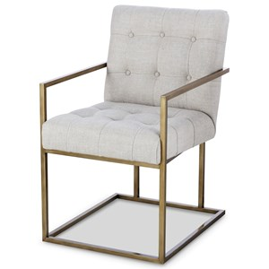 Century Archive Home and Monarch Kendall Metal Arm Chair