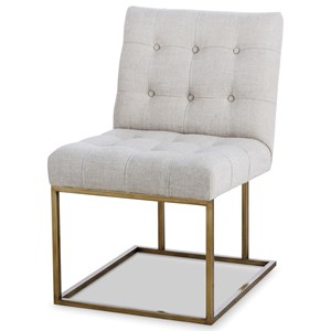 Century Archive Home and Monarch Kendall Metal Side Chair