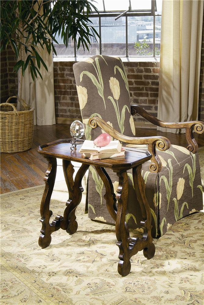 Caperana End Table by Century at Baer's Furniture