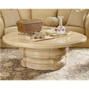 Century Caravelle Round Cocktail Table