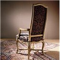 Century Casual Classics Carved French Arm Chair - 579-522