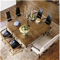 Century Casual Classics Square-To-Square Dining Table - 649-305