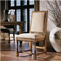 Century Casual Classics Side Chair with Turned Legs - 649-521