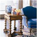 Century Casual Classics Jacobean Twist Lamp Table - 649-621