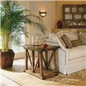 Century Casual Classics Trapezoidal Chairside Table - 649-623
