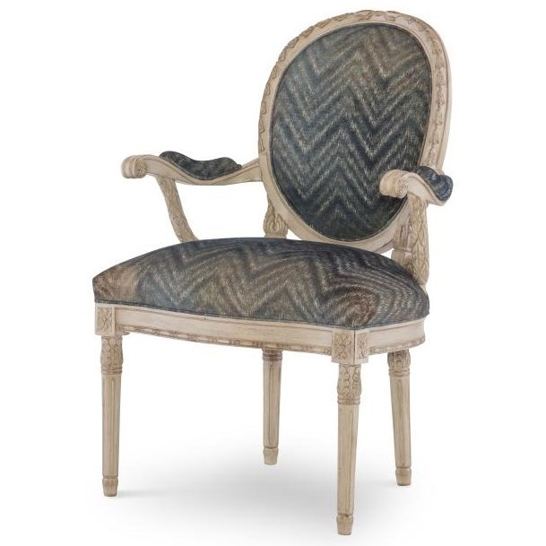 Century Chair Upholstered Back Chair by Century at Baer's Furniture
