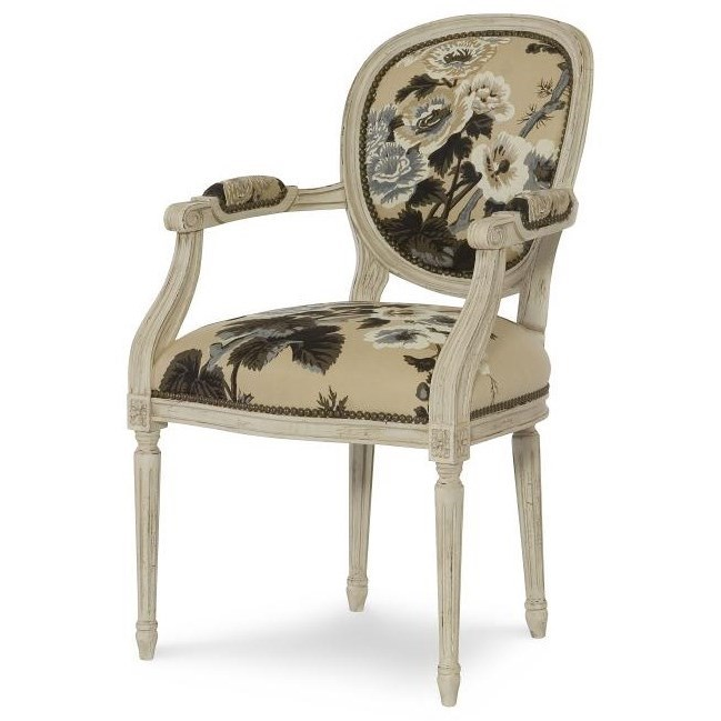 Century Chair Louis XVI Chair by Century at Baer's Furniture