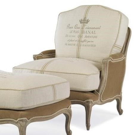 Century Chair Grand Bergere Chair by Century at Baer's Furniture