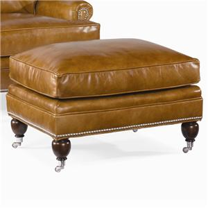 Century Century Leather Essex Ottoman