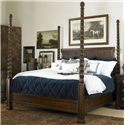 Century Chelsea Club California King Poster Bed - Item Number: 36H-147
