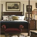Century Chelsea Club California King Poster Bed - Bed Shown May Not Represent Size Indicated