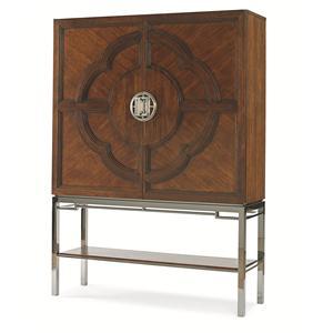 Century Chin Hua Lotus Bar Cabinet