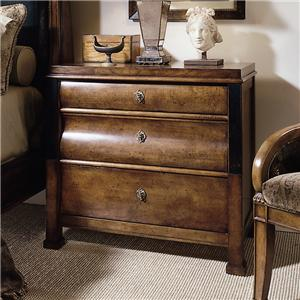 Century Consulate 3 Drawer Ingre Night Stand