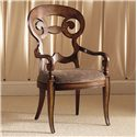 Century Consulate Vienna Dining Arm Chair - Item Number: 59-542
