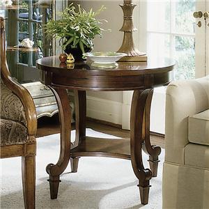 Century Consulate Gueridon Lamp End Table