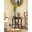 Century Consulate Gueridon Round Lamp End Table