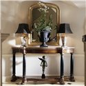 Century Consulate Empire Console Table - Shown with Marie Louise Wall Mirror