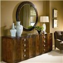 Century Omni Pair of Chests and Ebonized Mirror - Item Number: 2x559-204+55E-233