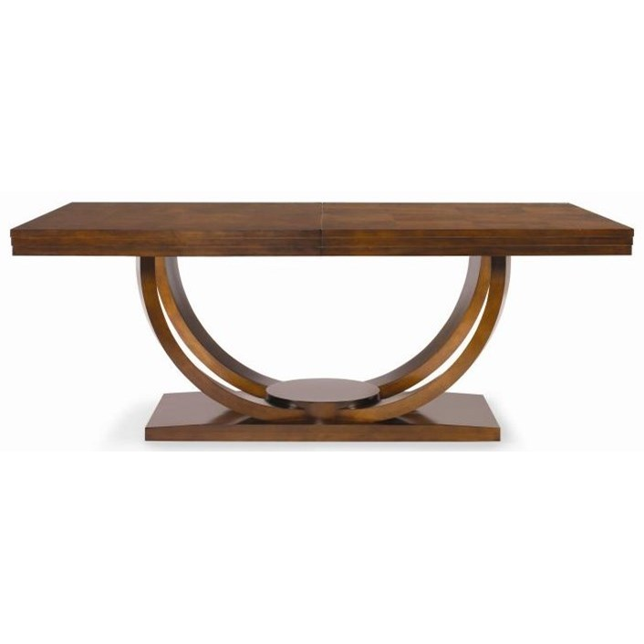 """Century Omni 78"""" Dining Table - Item Number: 559-303 Sable"""