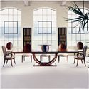 Century Century Classics Dining Table, Arm Chair and Side Chair Set - Item Number: 559-303+2x559-532+5x559-531