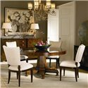 Century Omni Side Chair - Shown as Set with Dining Table.