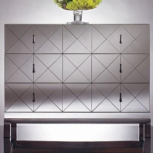 Century Omni Mirrored Drawer Chest