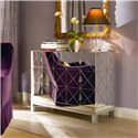 Century Omni Mirrored Drawer Chest - Item Number: 55A-709