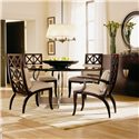 Century Century Classics Windowpane Arm Chair - Shown as Set with Element Dining Table and Two Windowpane Side Chairs.