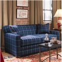 Century Cornerstone  <b>Customizable</b> Stationary Sofa with Track Arms and Tight Box Back