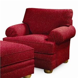 Century Cornerstone  <b>Customizable</b> Upholstered Chair