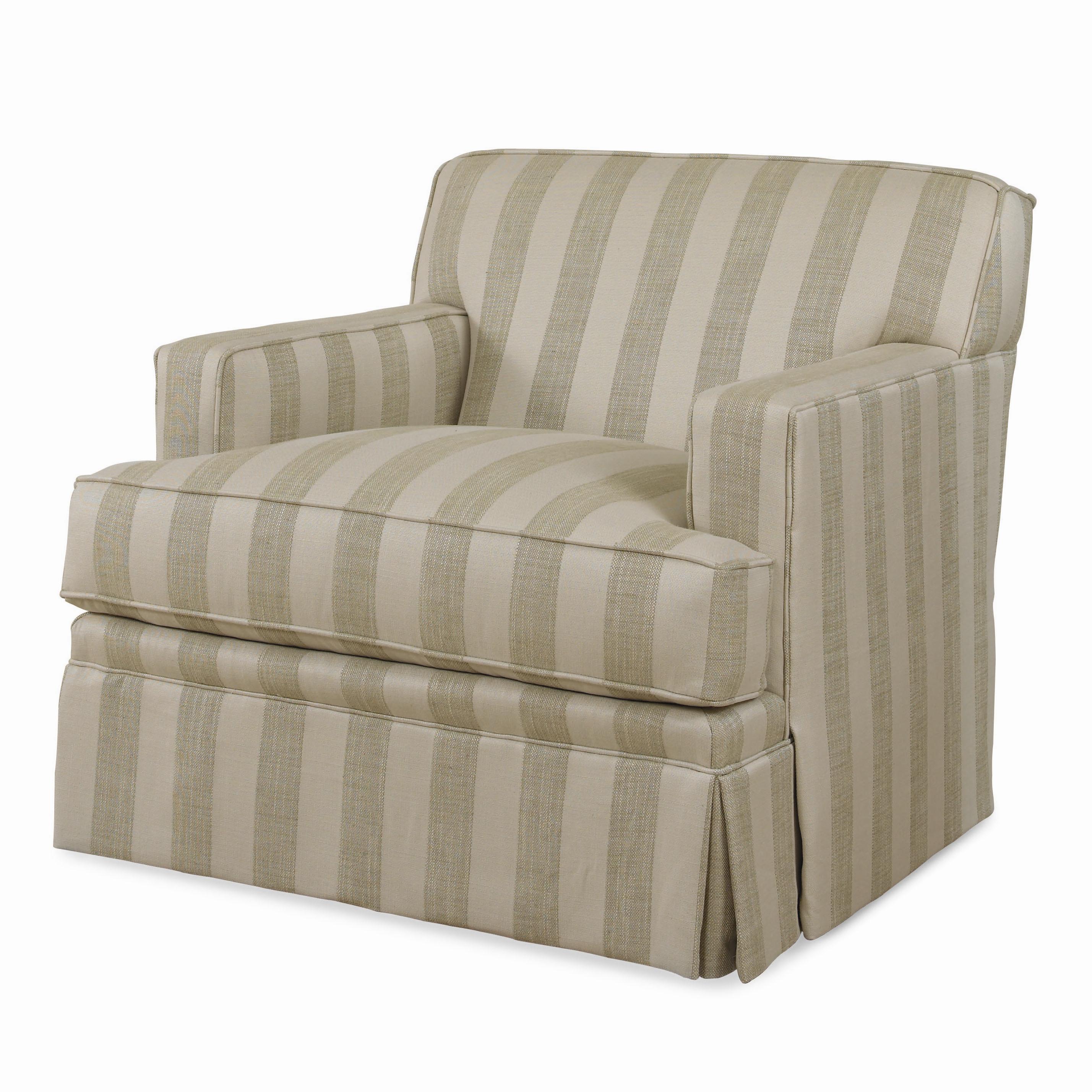 Incroyable Century Cornerstone U003cbu003eCustomizableu003c/bu003e Upholstered Chair With Track Arms  And Dressmaker Skirt   AHFA   Upholstered Chair Dealer Locator