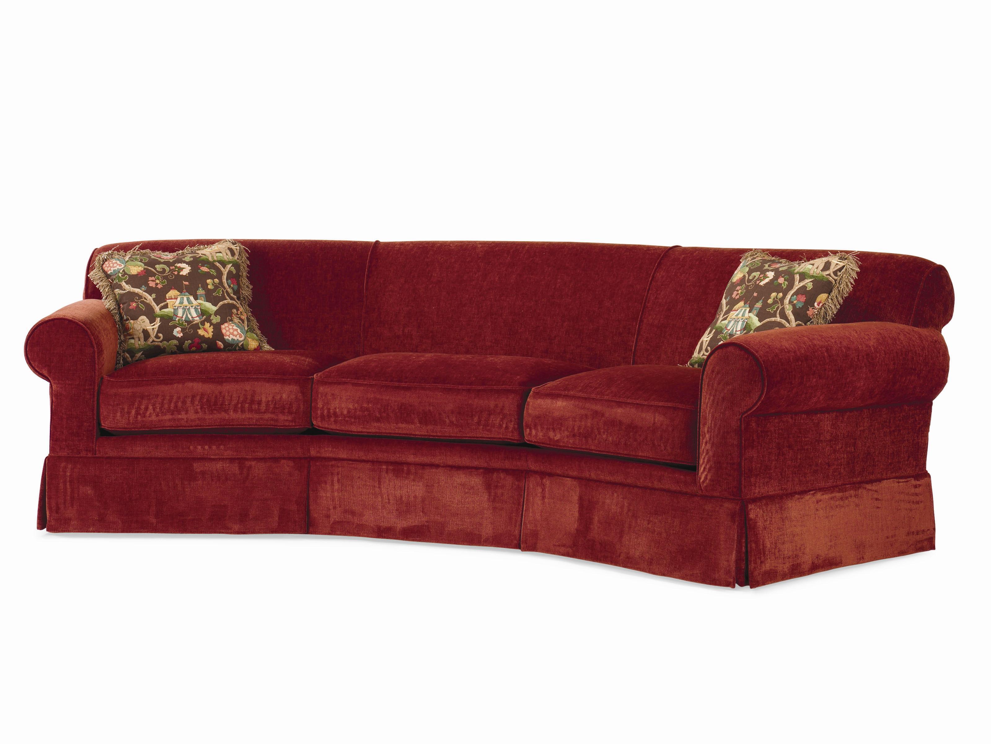Century Cornerstone Customizable Conversation Sofa Kick