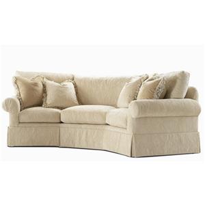 Century Elegance  Wedge Sofa
