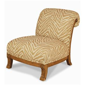 Century Elegance  Armless Chair