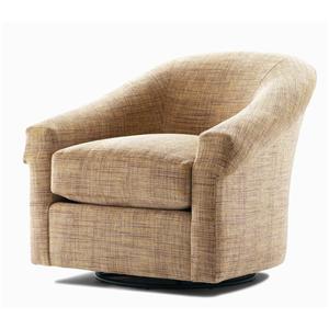 Century Elegance  Upholstered Swivel Glider