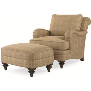 Century Elegance  Kent Chair & Ottoman