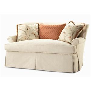 Century Elegance  Upholstered Settee