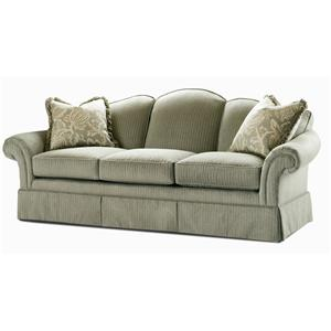 Century Elegance  Upholstered Stationary Sofa
